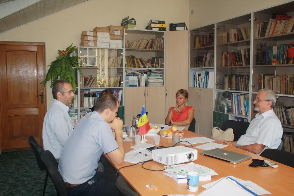 kick-off meeting, Chișinău
